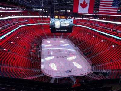 Little Caesars Arena, section: 220, row: 7, seat: 10