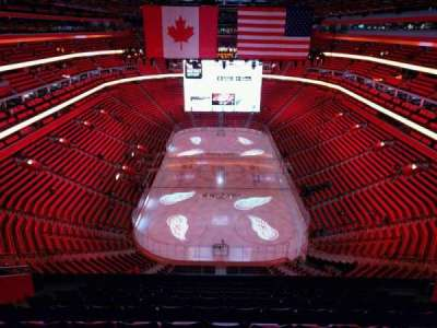 Little Caesars Arena, section: 219, row: 10, seat: 11