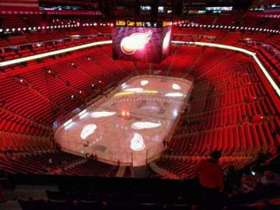 Little Caesars Arena, section: 217, row: 7, seat: 16