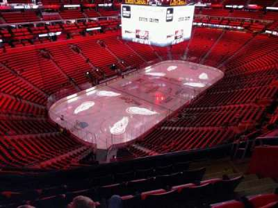 Little Caesars Arena, section: 216, row: 6, seat: 7