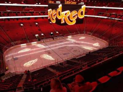 Little Caesars Arena, section: 214, row: 3, seat: 9