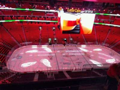 Little Caesars Arena, section: 213, row: 5, seat: 3
