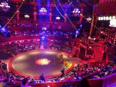 Cirque d'hiver, section: C, row: E, seat: 100
