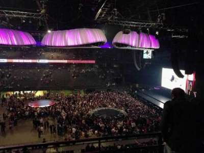 Sportpaleis, section: 213, row: 3, seat: 3