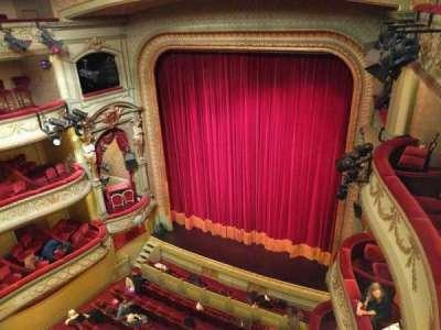 Théâtre Royal du Parc, section: Quatrième Balcon, row: a, seat: 28