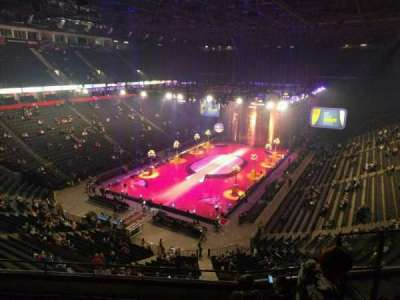 Manchester Arena, section: 210, row: g, seat: 17