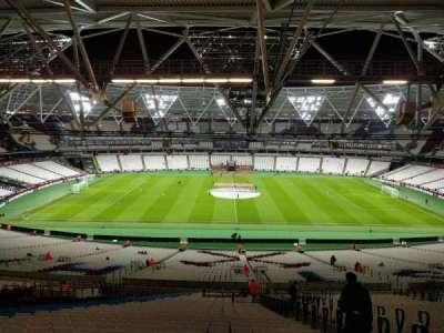 London Stadium section 236