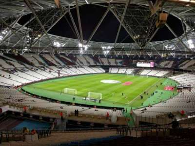 London Stadium, section: 254, row: 57, seat: 727