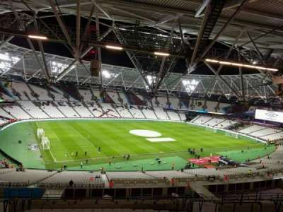 London Stadium, section: 203, row: 63, seat: 575