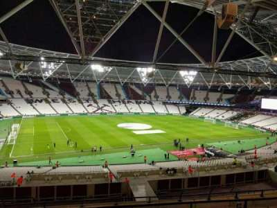 London Stadium, section: 205, row: 53, seat: 539