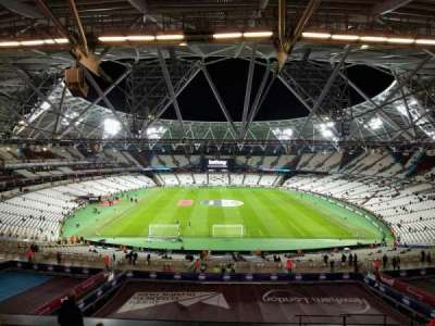 London Stadium, section: 222, row: 59, seat: 007