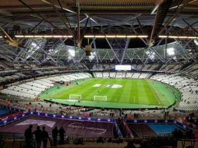 London Stadium, section: 223, row: 65, seat: 826