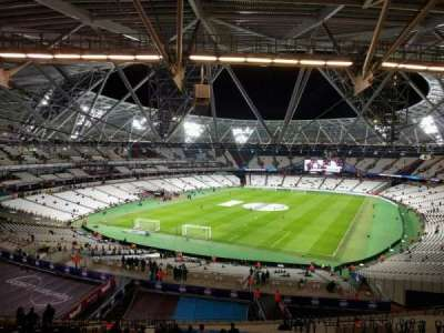 London Stadium, section: 225, row: 61, seat: 763