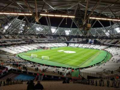 London Stadium, section: 227, row: 63, seat: 727