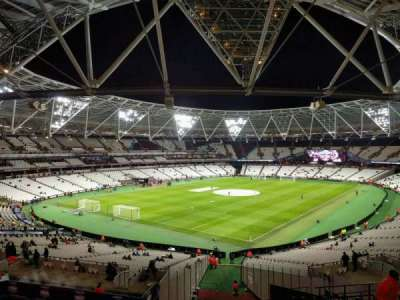 London Stadium, section: 228, row: 47, seat: 696