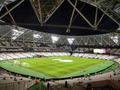 London Stadium, section: 229, row: 45, seat: 662
