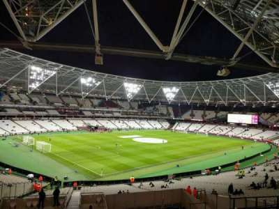 London Stadium, section: 230, row: 44, seat: 632