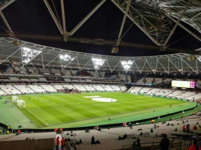 London Stadium, section: 231, row: 46, seat: 600