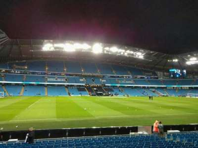 Etihad Stadium (Manchester), section: 107, row: r, seat: 177