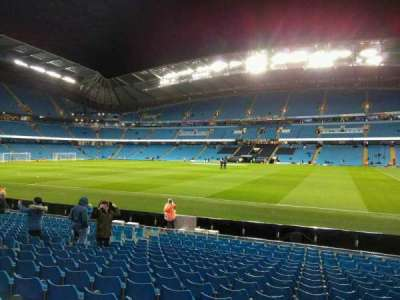 Etihad Stadium (Manchester), section: 102, row: p, seat: 47