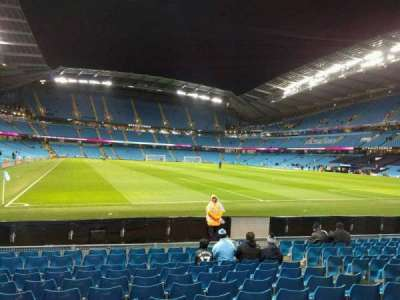 Etihad Stadium (Manchester), section: 139, row: k, seat: 1096