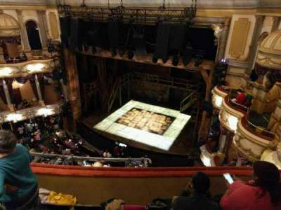 Victoria Palace Theatre, section: Grand Circle, row: E, seat: 4