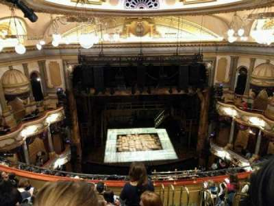 Victoria Palace Theatre, section: Grand Circle, row: h, seat: 22