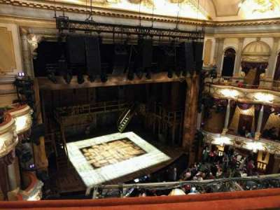 Victoria Palace Theatre, section: Grand Circle, row: c, seat: 34