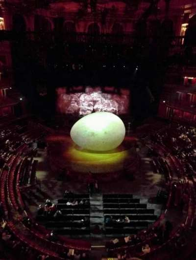 Royal Albert Hall, section: Circle T, row: 1, seat: 106