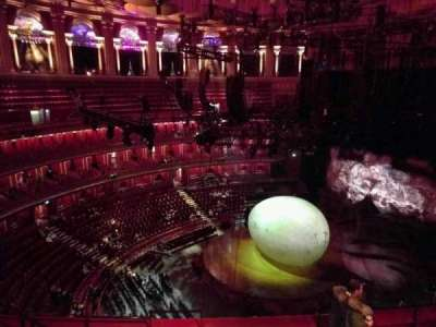 Royal Albert Hall, section: Circle V, row: 6, seat: 174