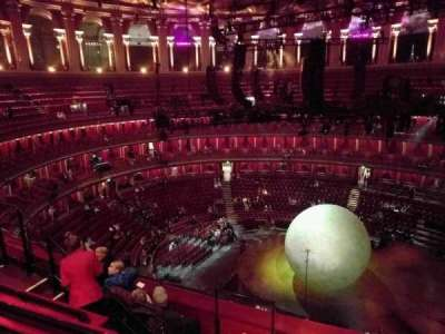 Royal Albert Hall, section: Circle X, row: 5, seat: 219