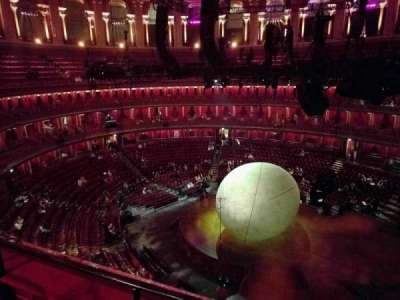 Royal Albert Hall, section: Circle Y, row: 2, seat: 118