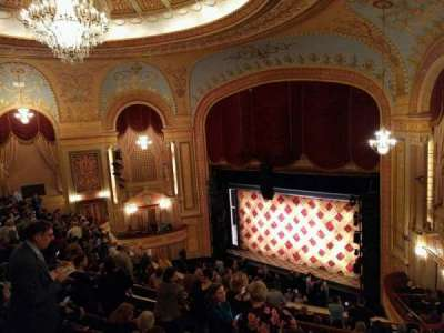 Forrest Theatre, section: Rear Mezzanine E, row: G, seat: 4