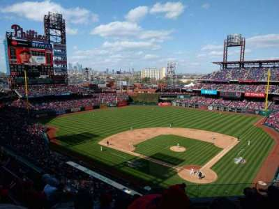 Citizens bank park  section 322