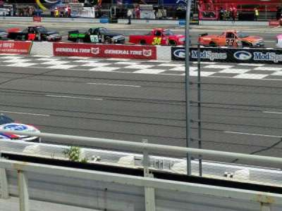 Pocono Raceway section 110