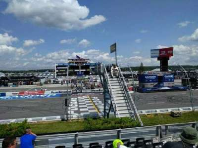 Pocono Raceway section 122
