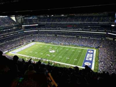 Lucas Oil Stadium section 609