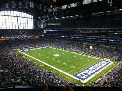 Lucas Oil Stadium section 533