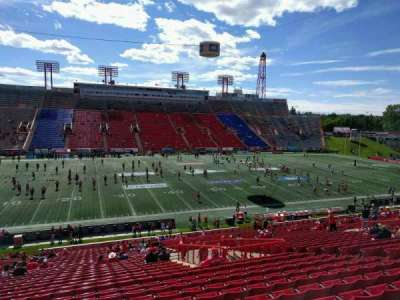 McMahon Stadium, section: u, row: 38, seat: 15