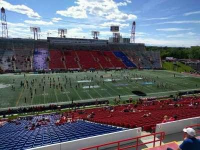 McMahon Stadium, section: v, row: 51, seat: 12