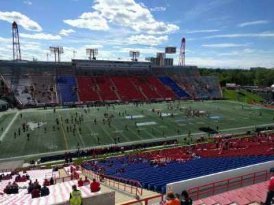 McMahon Stadium, section: w, row: 63, seat: 10