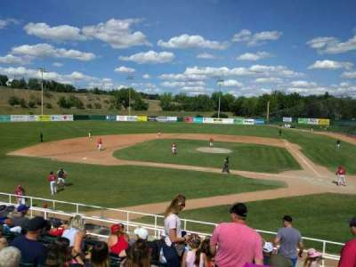 Athletic Park (Medicine Hat), section: a, row: ga