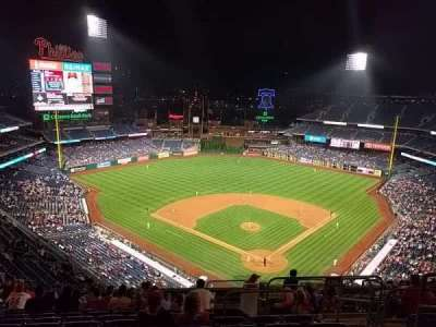 Citizens bank park  section 422