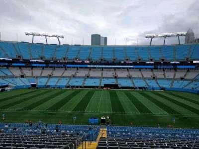 Bank of America Stadium section 343
