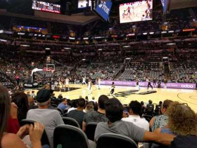 AT&T Center, section: 22, row: 13, seat: 3