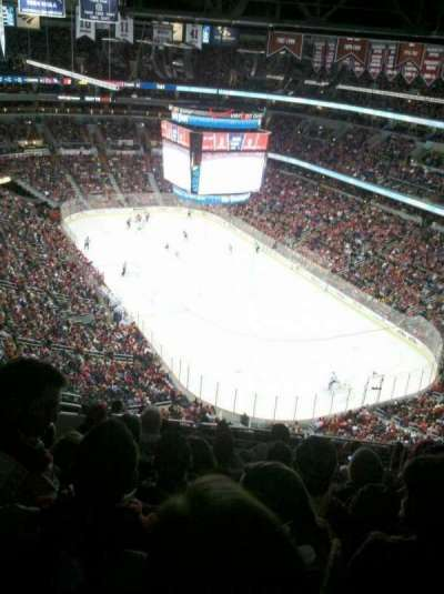 Verizon Center, section: 406, row: M, seat: 7