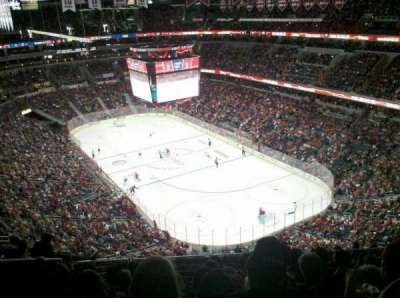 Verizon Center, section: 406, row: M, seat: 9