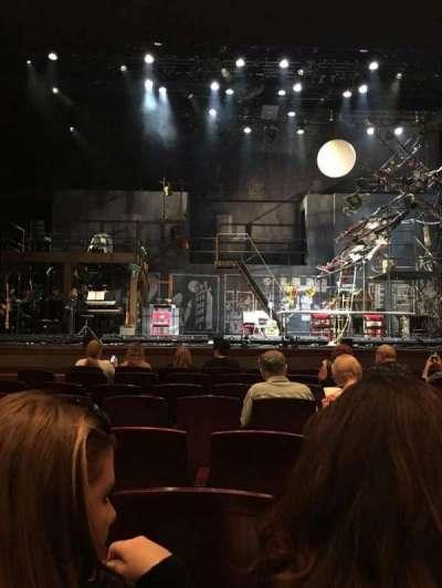 Walt Disney Theatre - Dr. Phillips Center, section: Orch Center, row: D, seat: 107