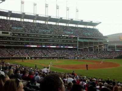 Progressive Field, section: 130, row: z, seat: 2