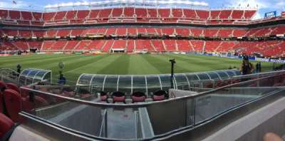 Levi's Stadium, section: 137, row: 7, seat: 2
